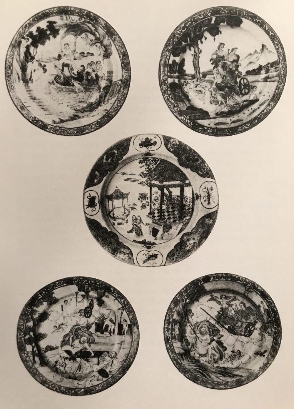 Porcelain Qianlong (1735-1795), circa 1742, China