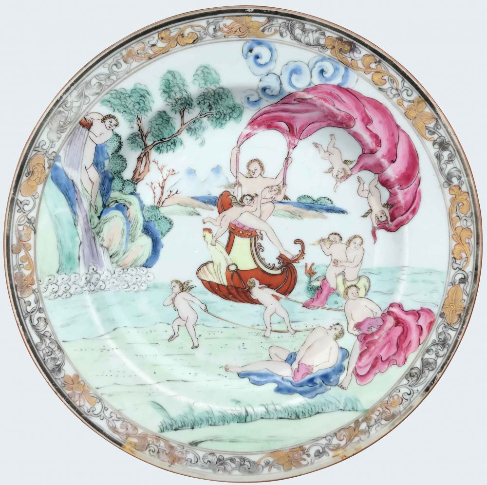 Porcelain Qianlong (1735-1795), circa 1742, China