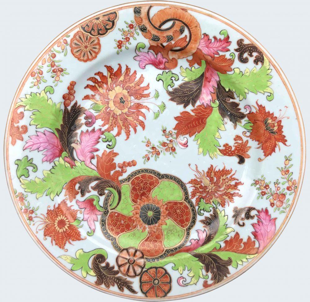 Famille rose Porcelain Qianlong (1735-1795), after 1770, Chine