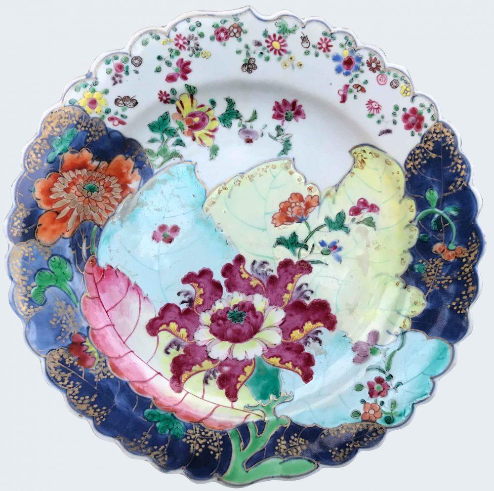Famille rose Porceain Qianlong (1735-1795), circa 1770, China