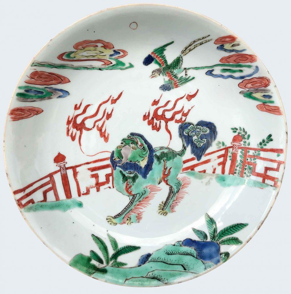 Famille verte Porelain Kangxi (1662-1722), circa 1700, China