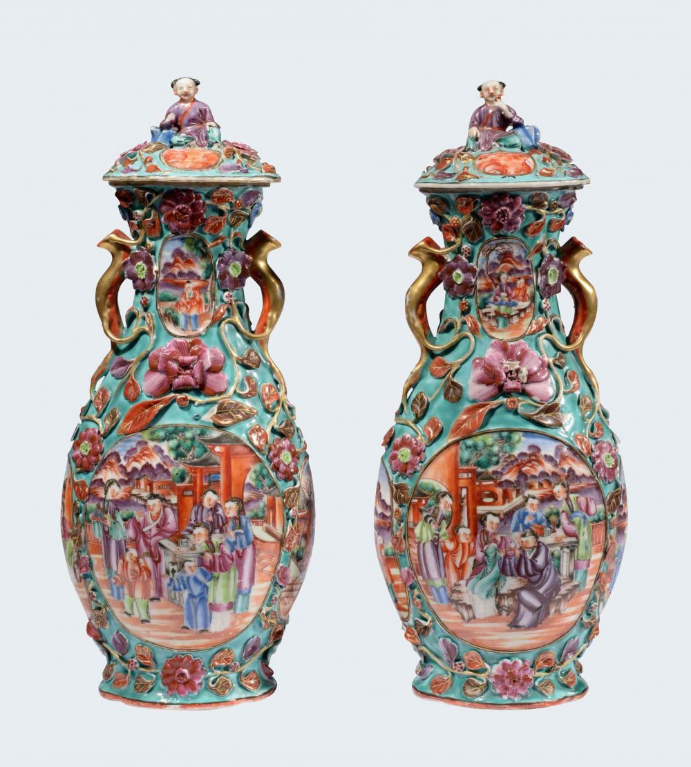 Porcelain Qianlong (1735-1795), circa 1785, China