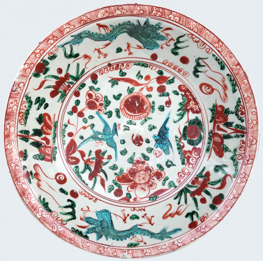 Porcelain Ming dynasty 16th/17th century, China - Zhangzhou kilns