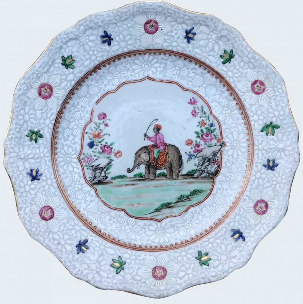 Famille rose China Qianlong (1735-1795), circa 1760, China