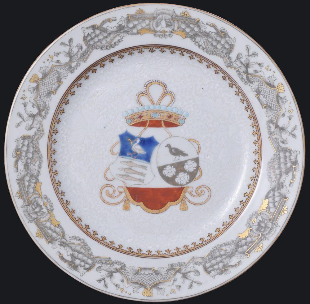 Porcelain Qianlong (1735-1795), circa 1740-1745, China