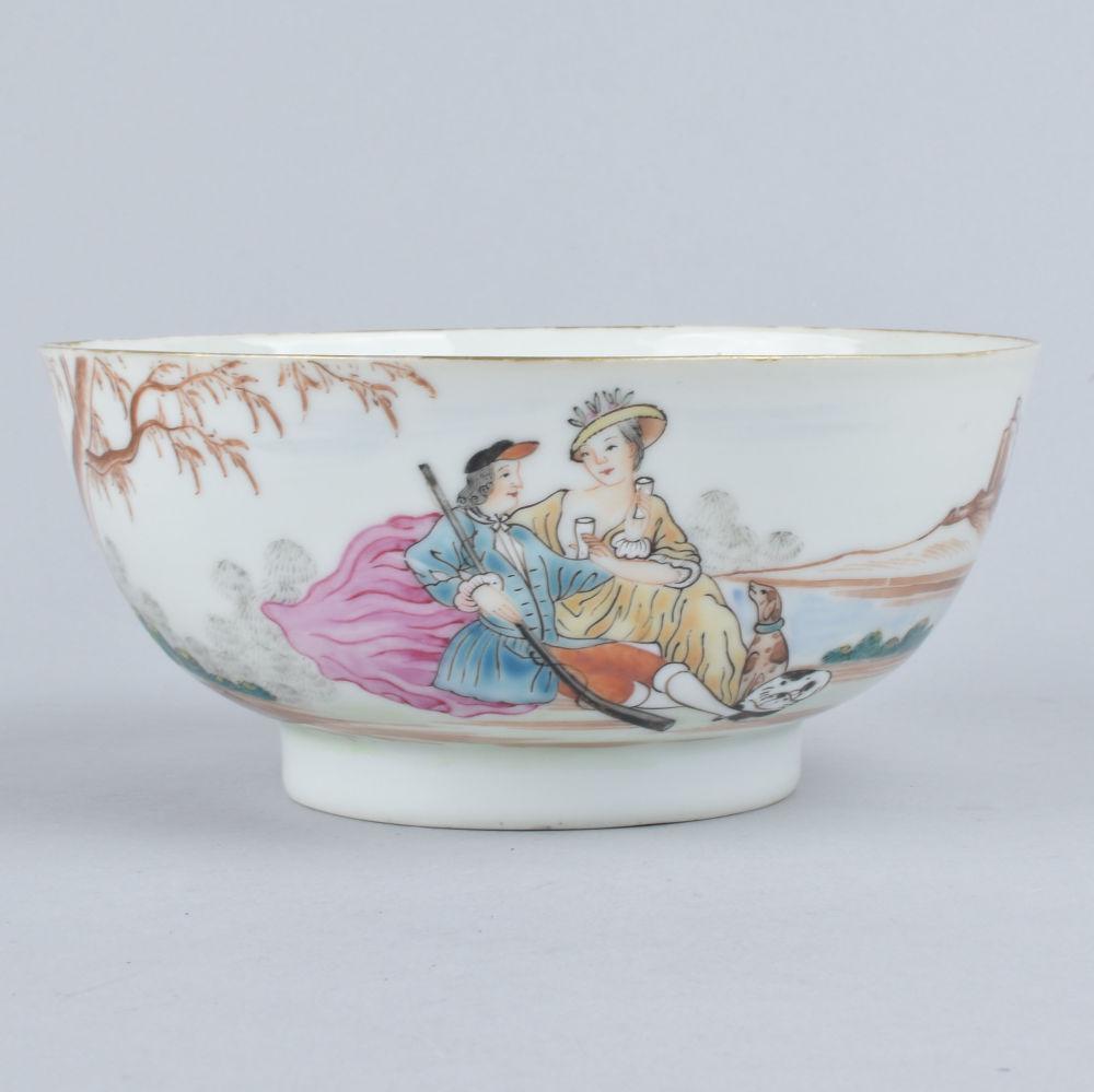 Famille rose Porcelain Qianlong (1736-1795), circa 1750, China