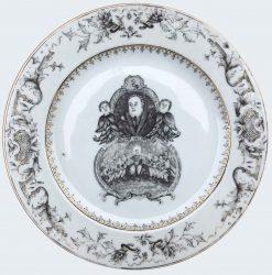 Porcelain Qianlong (1735-1795), circa 1740/1760, China