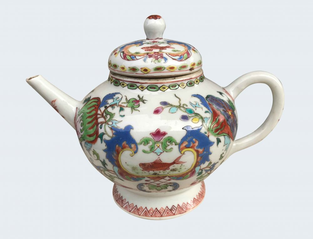 Famille rose Porcelain Yongzheng (1723-1735) or Qianlong (1735-1795), China