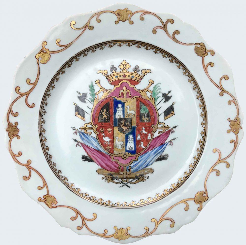 Porcelain Qianlong (1735-1795), circa 1754-1759, China