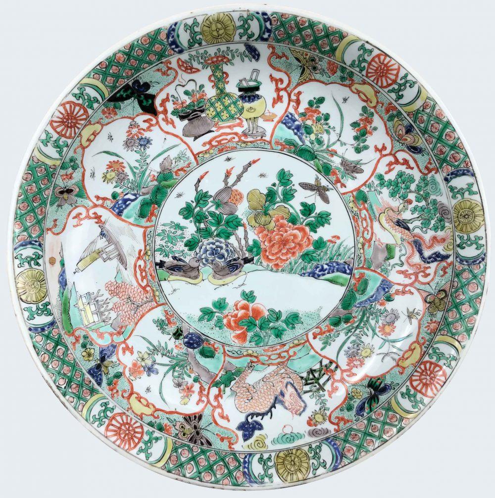 Famille verte Porcelain Kangxi (1662-1722), circa 1700-1720, China