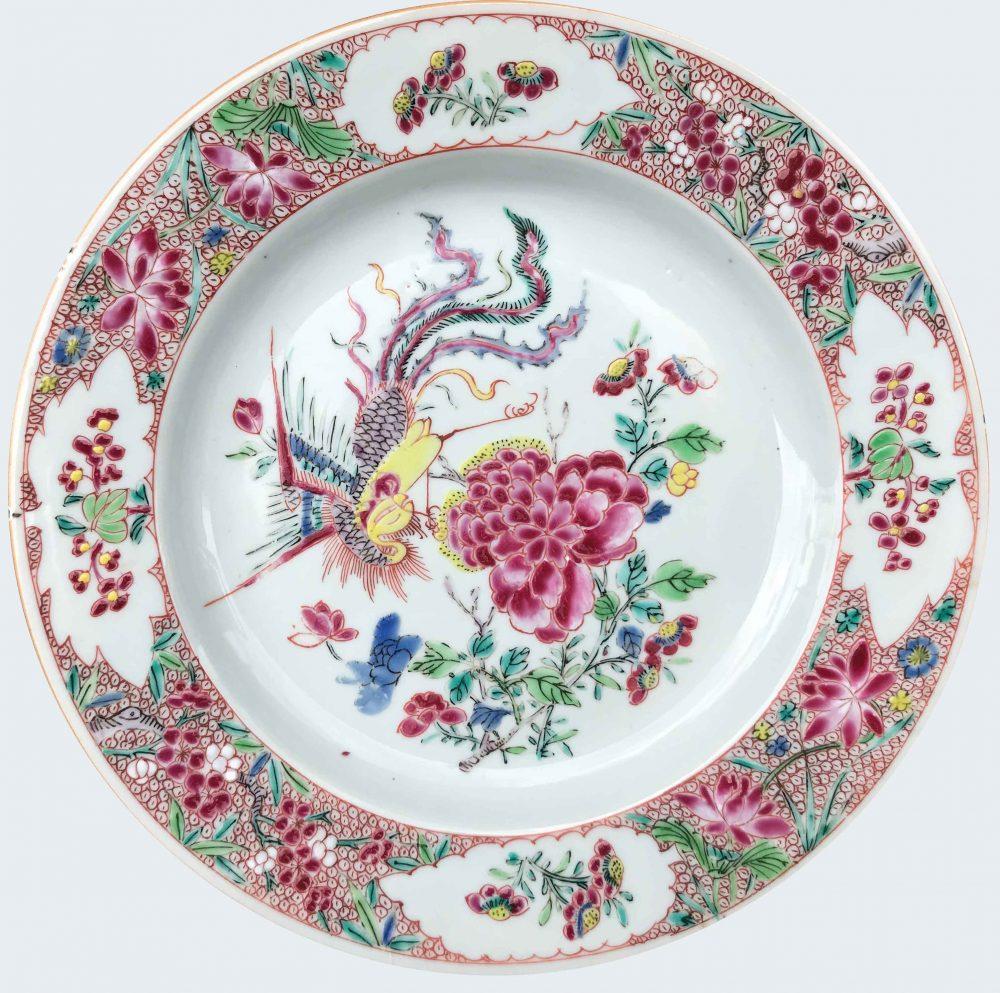 Famille rose Porcelain Late Yongzheng/early Qianlong (circa 1735-1740), China