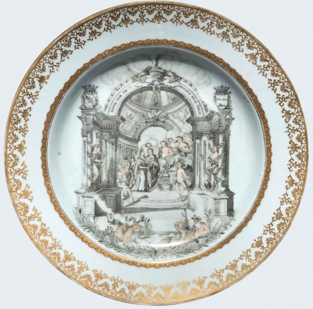 Porcelain Yongzheng (1723-1735), circa 1735, China
