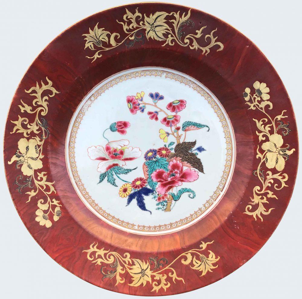 Famille rose Porcelain Yongzheng (1723-1735) / Qianlong (1736-1795), circa 1730-1750, China