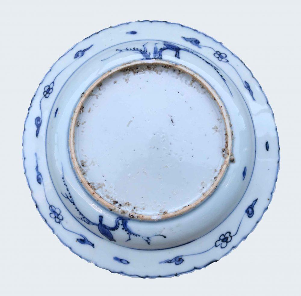 Porcelain Ming period - Late Jiajing (1522-1566), Longqing (1567-1572) or early Wanli (1573-1620). , China