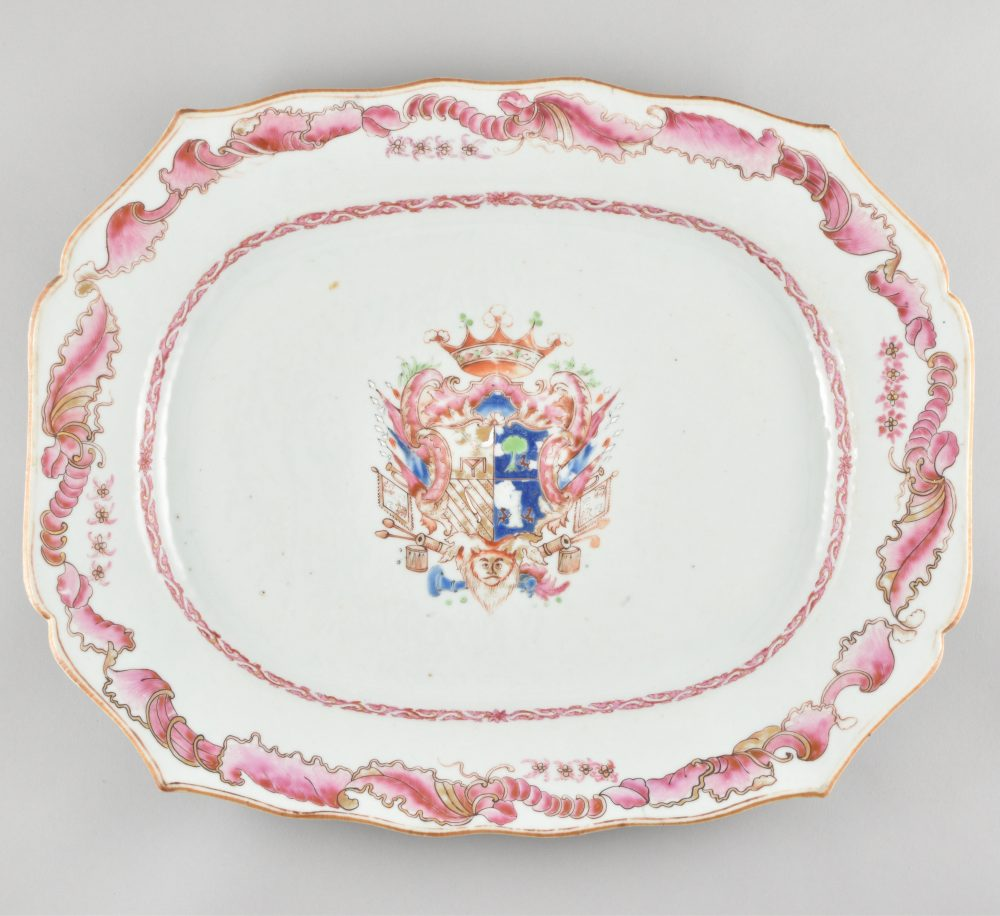 Famille rose Porcelain Qianlong (1735-1795), ca. 1769, China