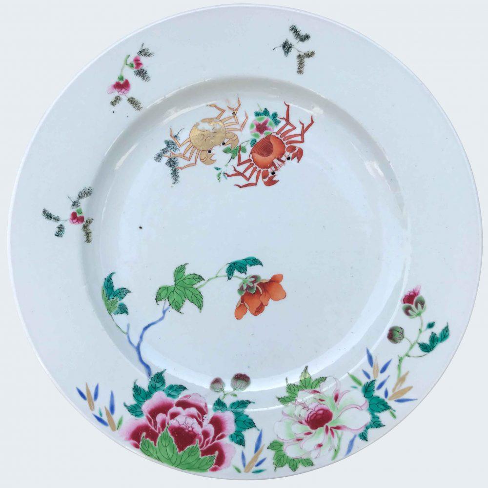 Famille rose Porcelain Yongzheng (1723-1735), circa 1730-1740, China