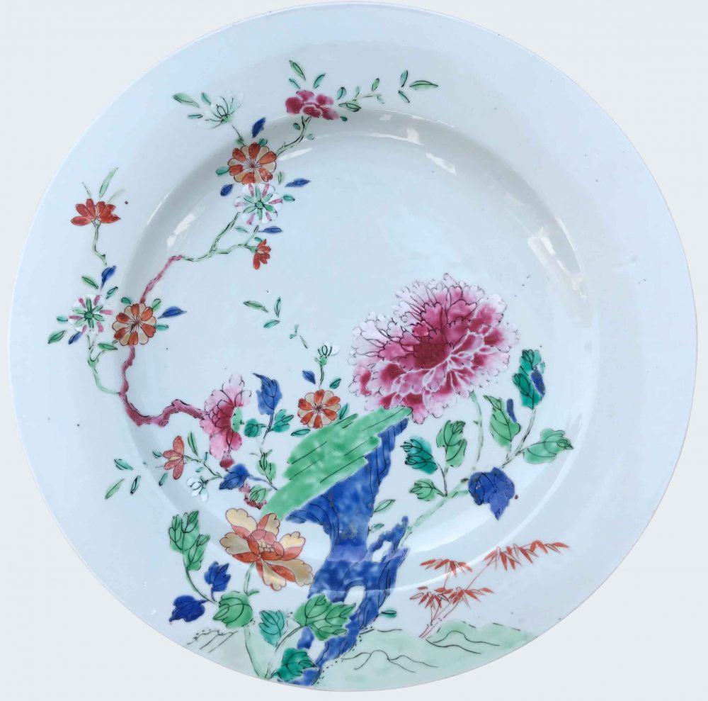 Famille rose Porcelain Qianlong (1735-1795), circa 1740, China