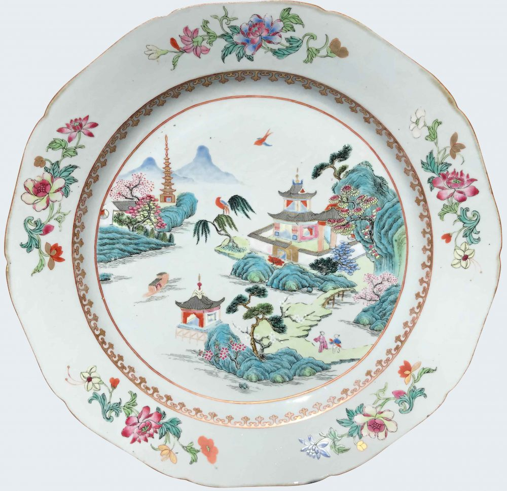 Famille rose Porcelaine Qianlong (1735-1795), China