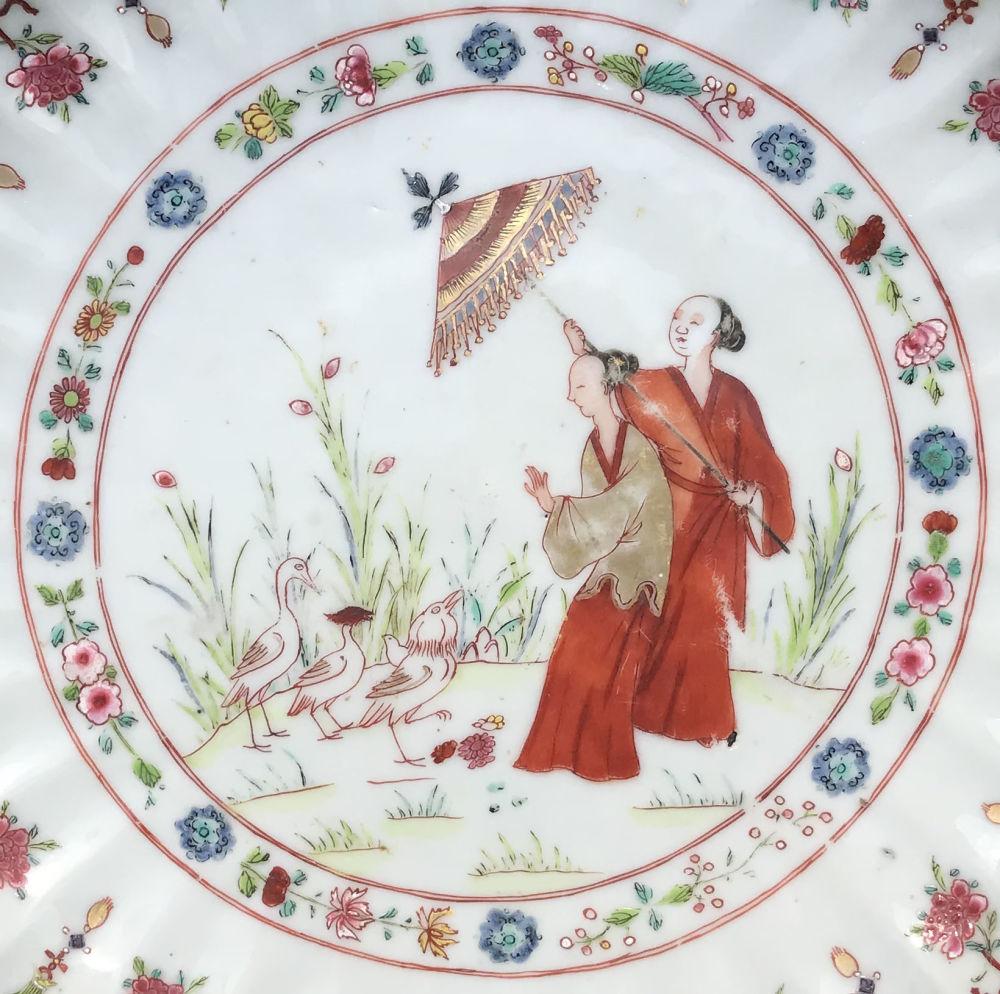 Famille rose Porcelain Qianlong (1735-1795), circa 1740/45, China