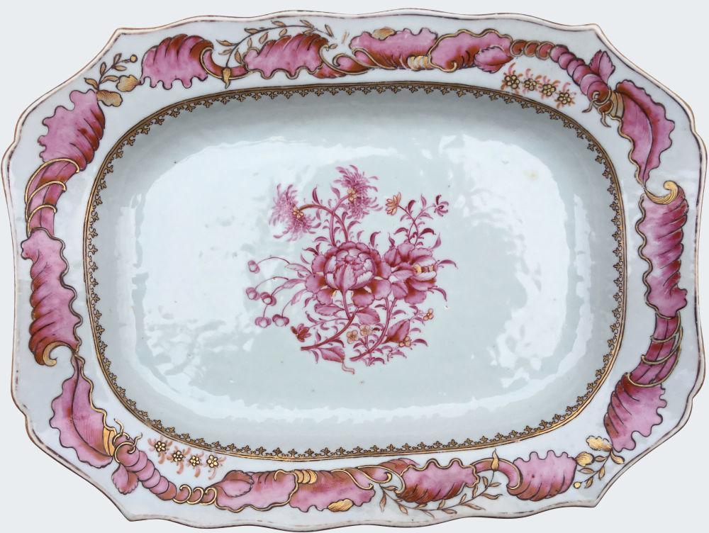 Famille rose Porcelain Qianlong (1735-1795), China