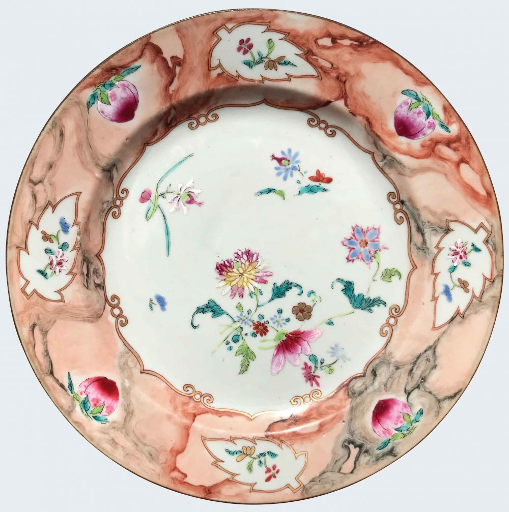 Famille rose Porcelain Qianlong (1735-1795), China