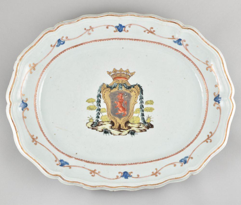 Porcelain Qianlong (1735-1795), circa 1755, China