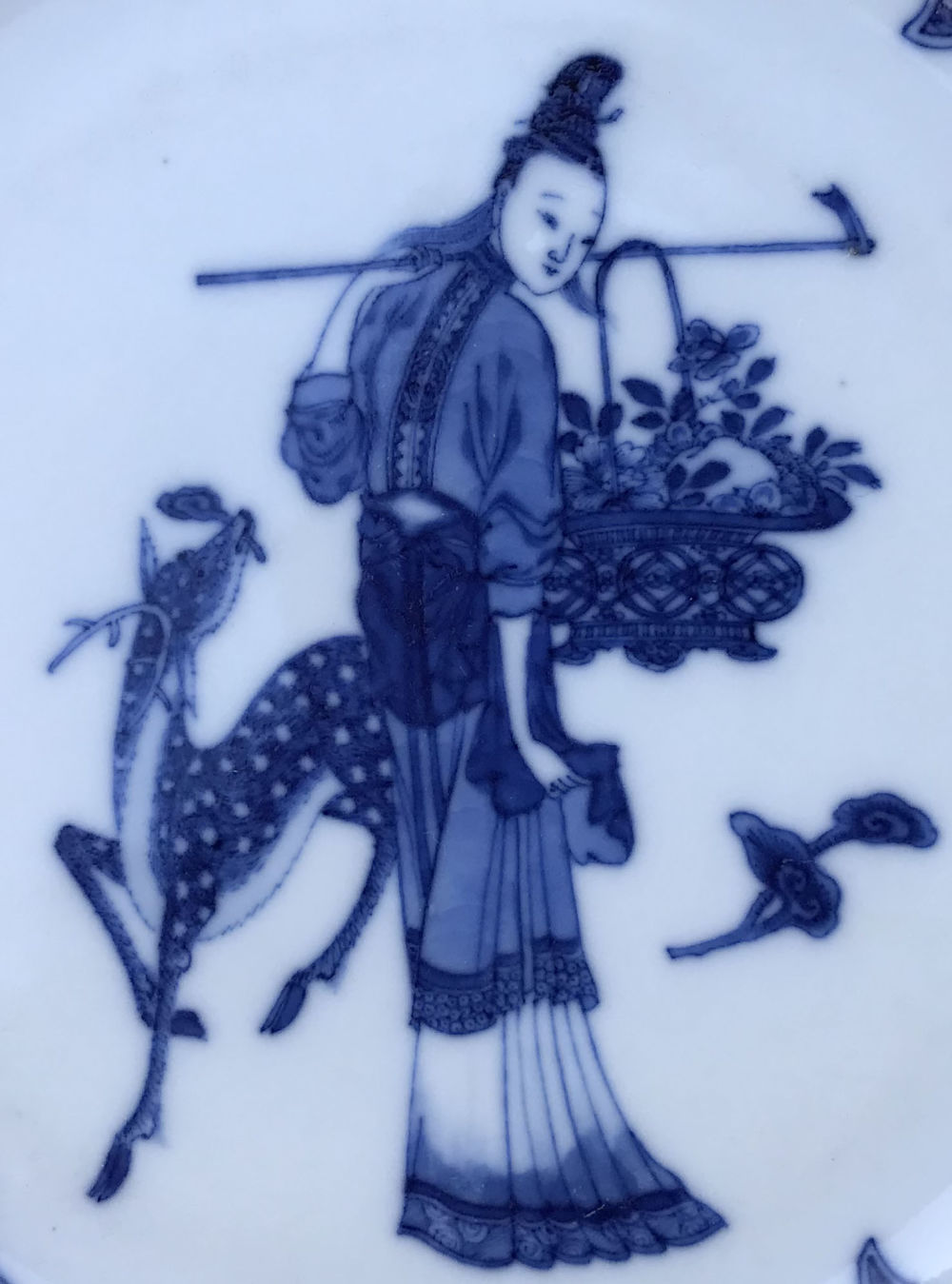 Porcelain Qianlong (1735-1795), circa 1760, China