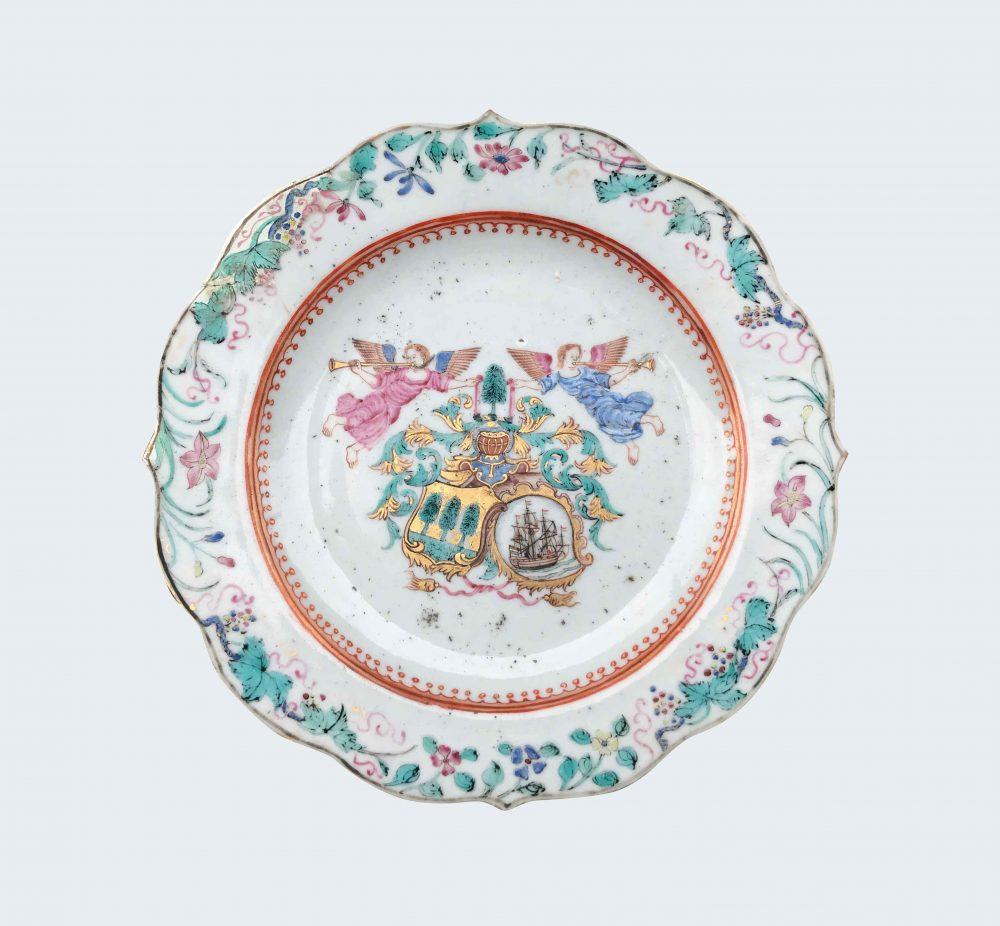 Porcelain Qianlong (173§-1795), circa 1756-1757, China