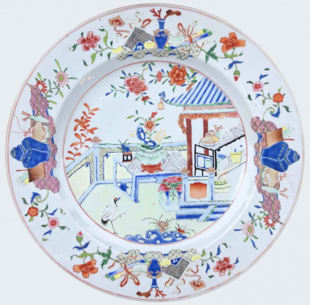 Famille rose Porcelain Yongzheng (1723-1735), circa 1735, China