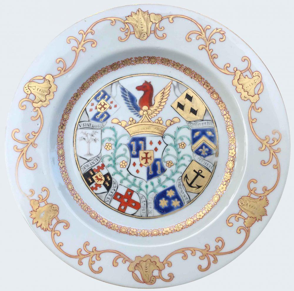 Porcelaine Qianlong (173§-1795), circa 1745, China