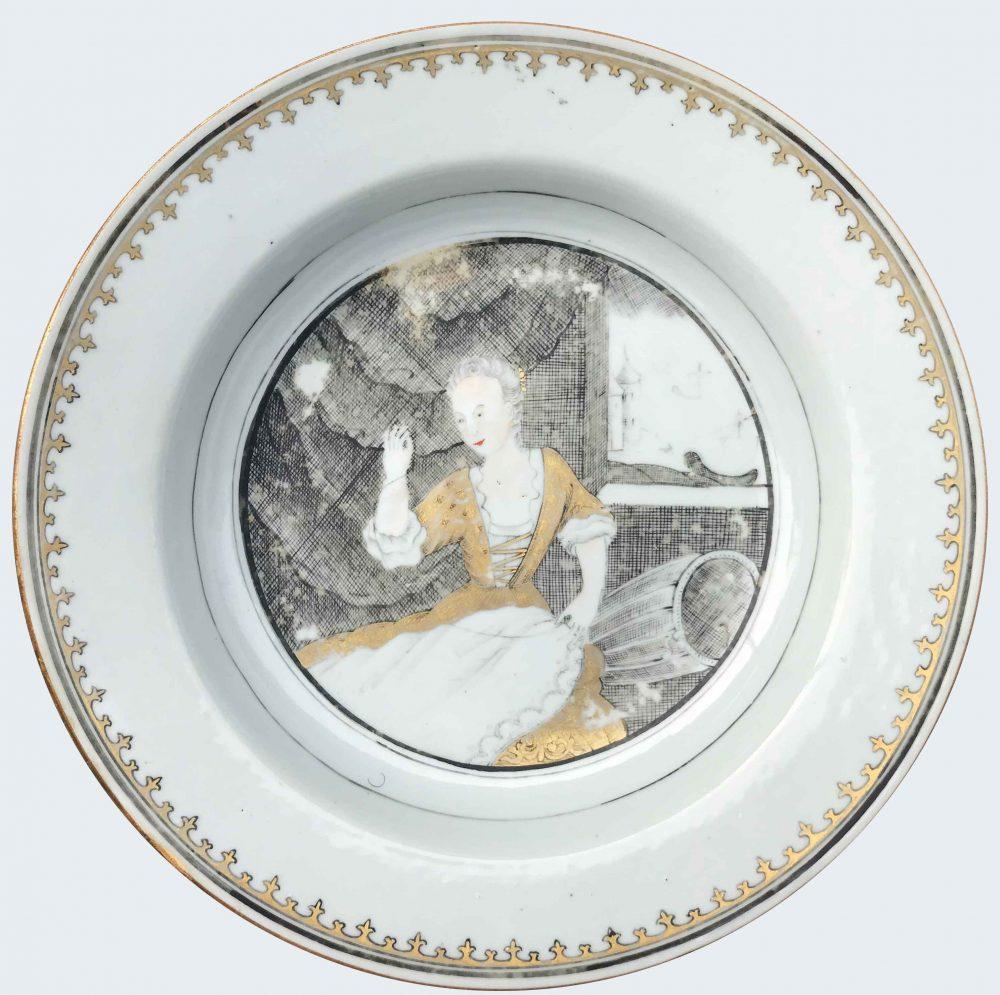 Porcelain Qianlong (1736-1795), circa 1750, China