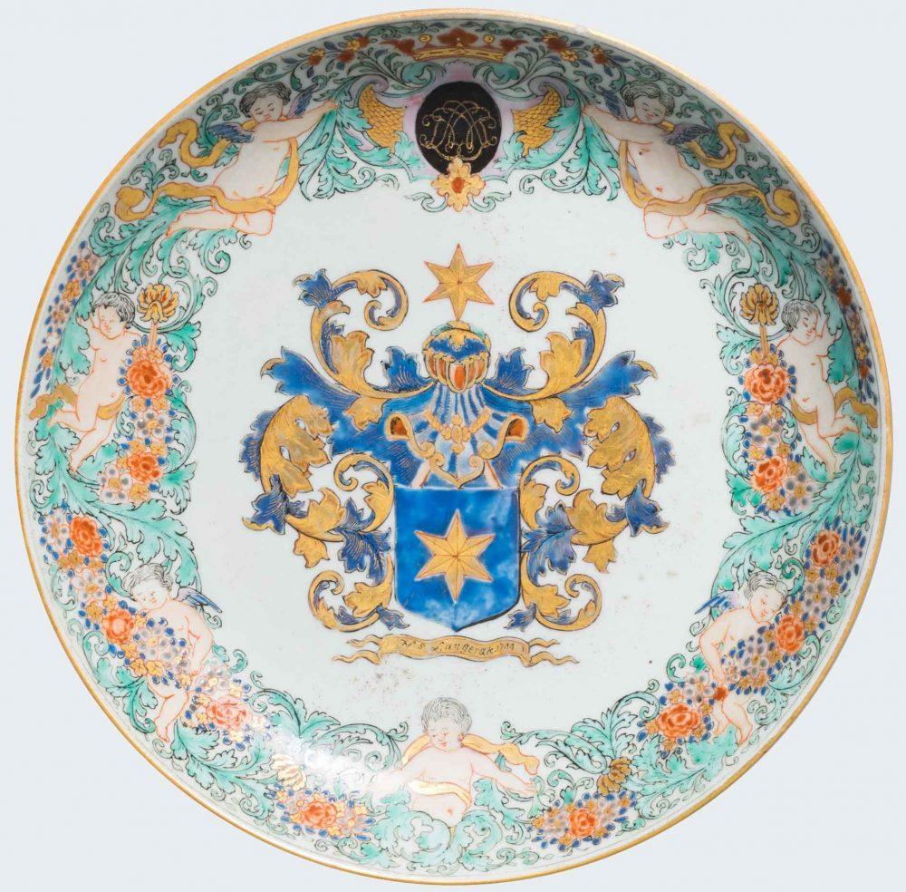 Porcelain Qianlong (1736-1795, dated 1744), China