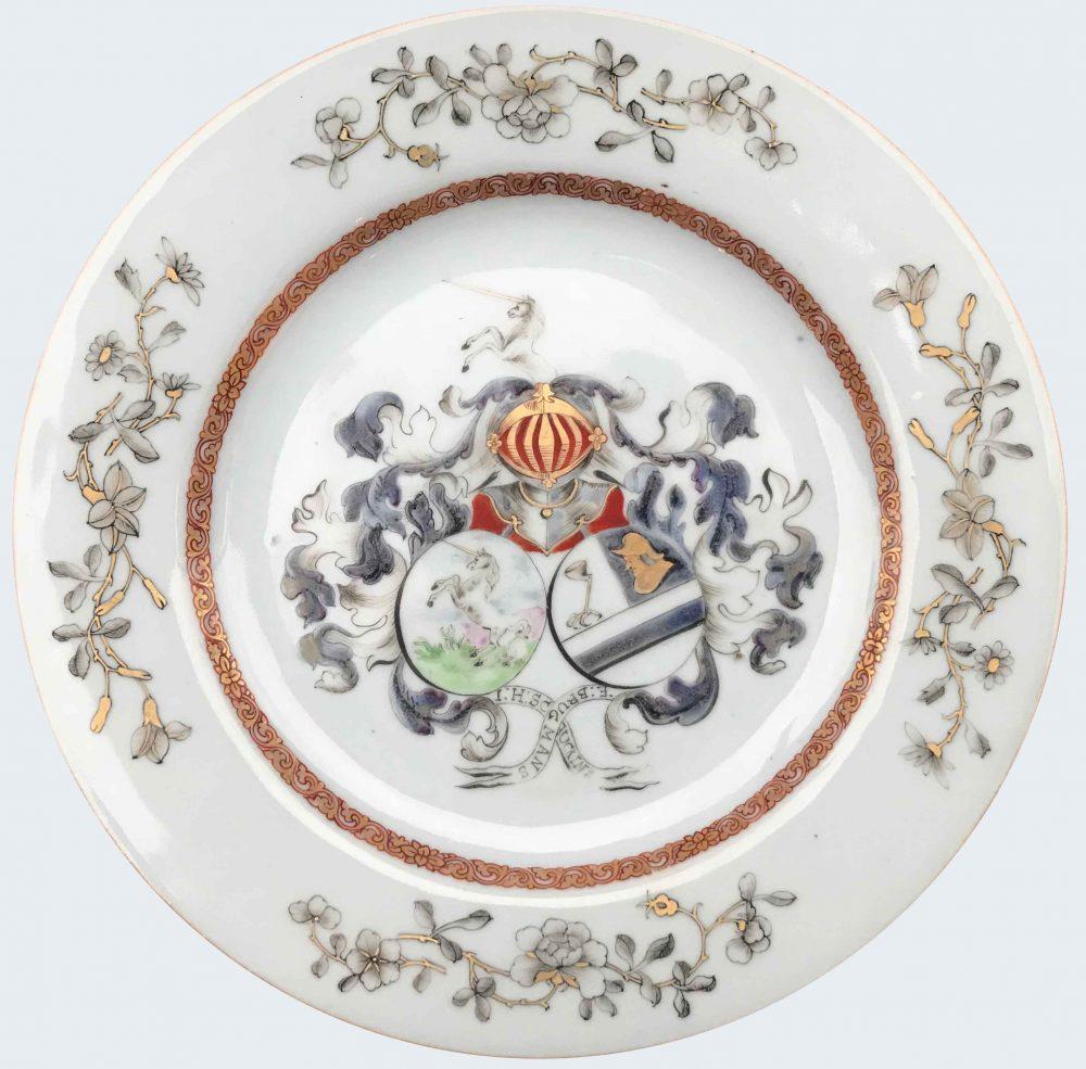 Porcelain Qianlong (1736-1795), circa 1743-45, China