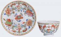 Famille rose Porcelain Yongzheng period (1723-1735) or Qianlong period (1735-1795), China