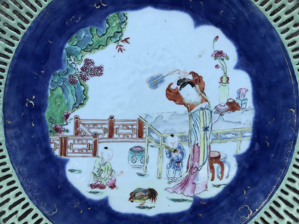Famille rose Porcelain Qianlong (1736-1795) , China
