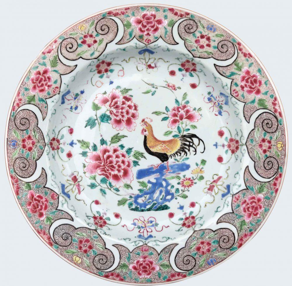 Famille rose Porcelain Yongzheng (1723-1735), circa 1730/40, China