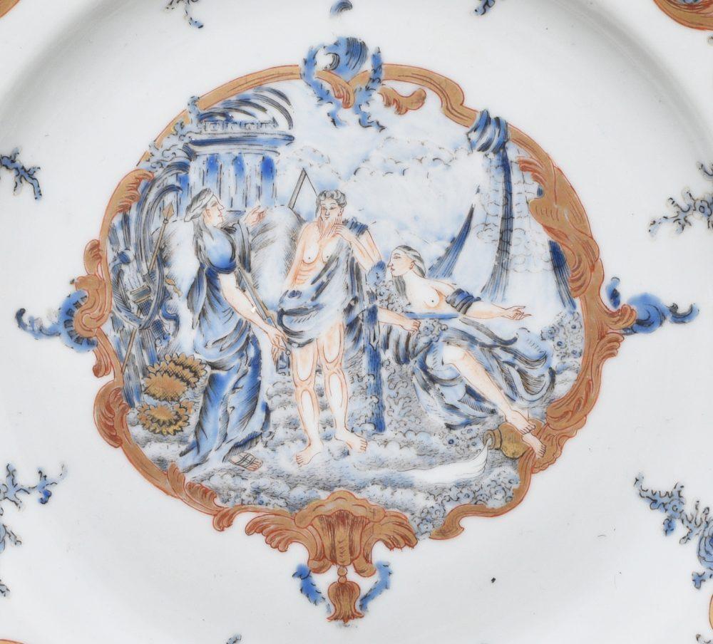 Porcelain Qianlong (1735-1795), circa 1745/1750, China