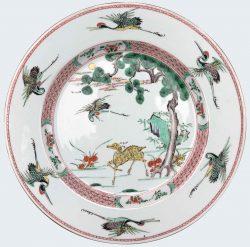 Famille verte Porcelain Kangxi (1662-1772), China