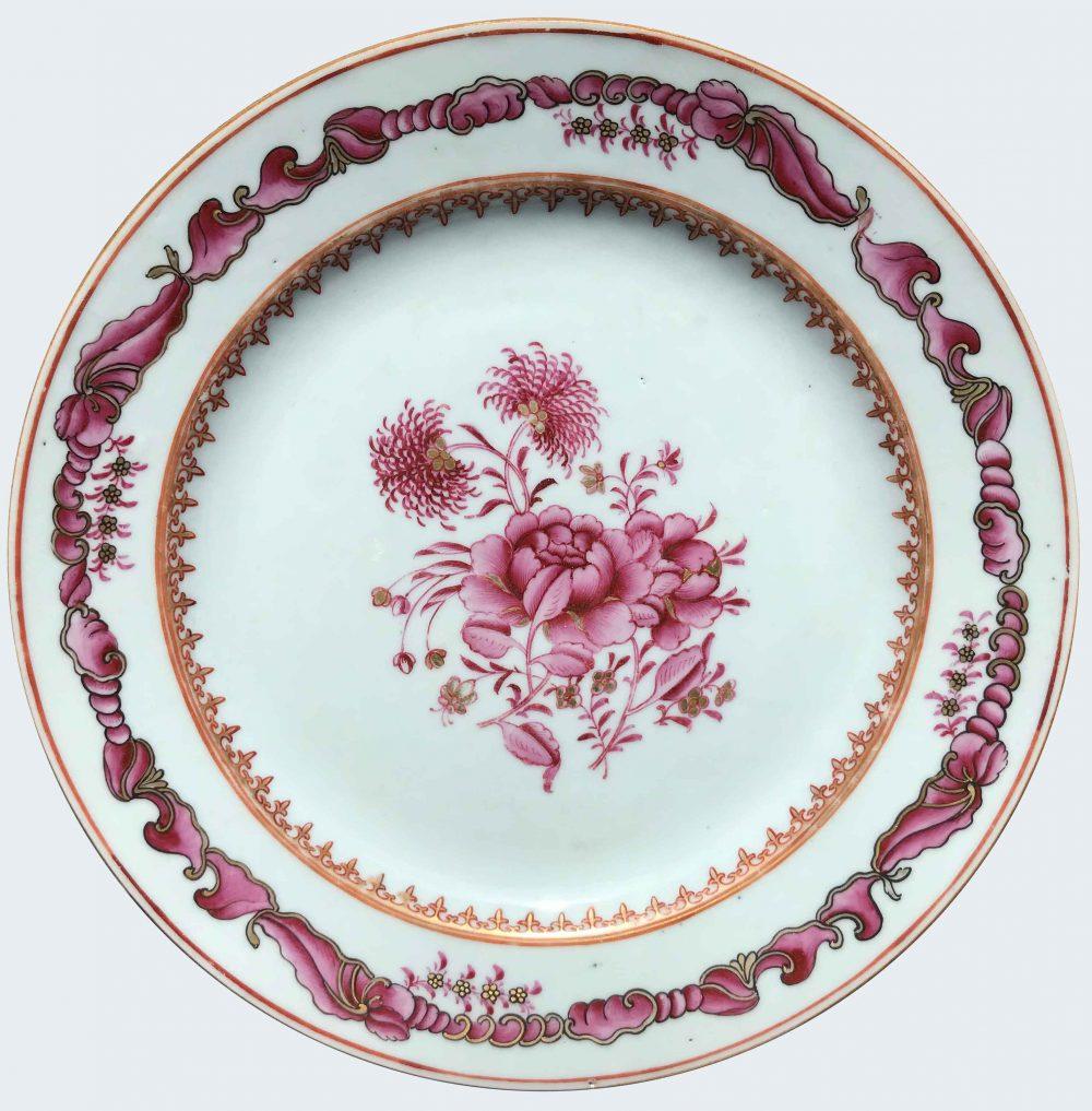 Famille rose Porcelain Qianlong (1735-1795), circa 1760, China