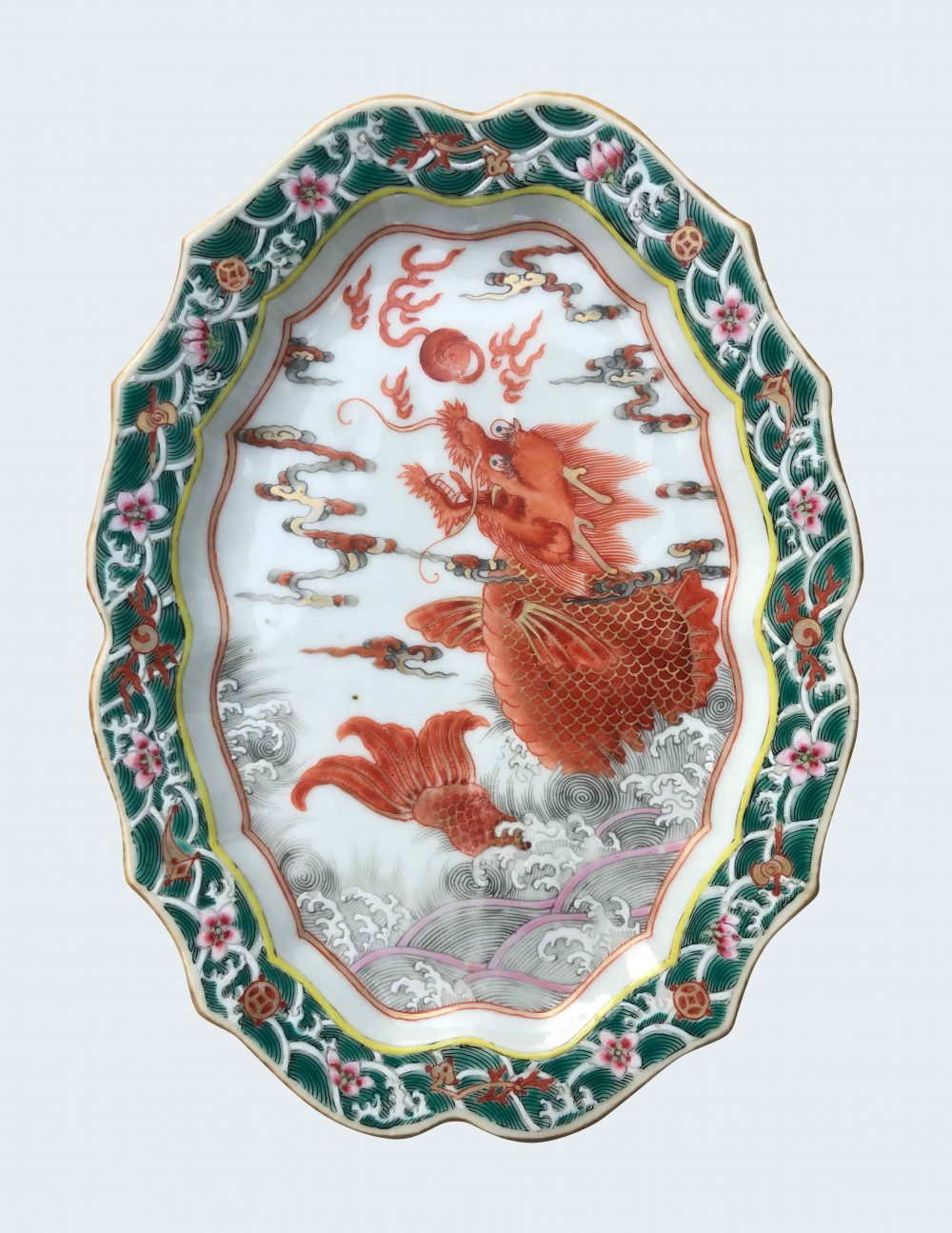 Famille rose Porcelain Late Qianlong (1735-1795), circa 1780, China
