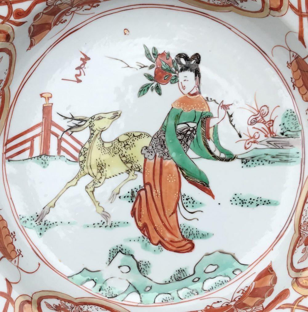 Famille verte Porcelain Kangxi (1662-1722), ca. 1710, China