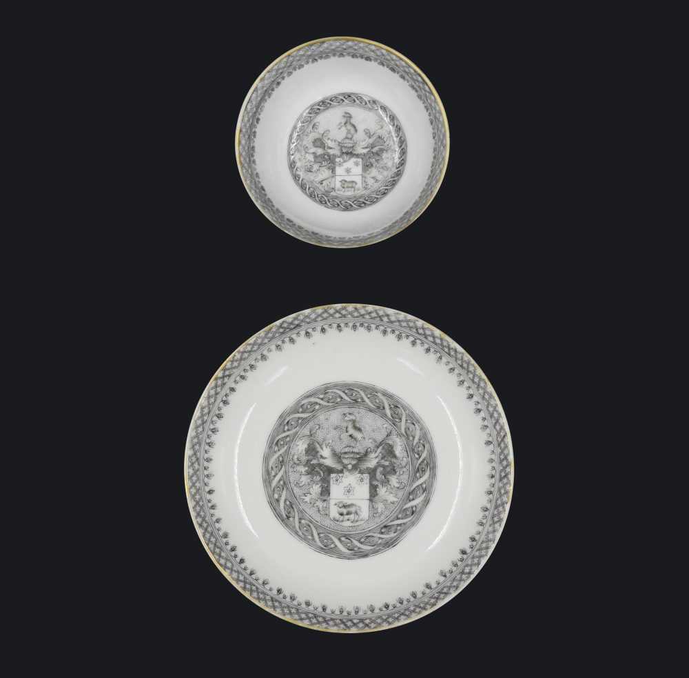 Porcelain Qianlong (1735-1795), ca. 1740, China