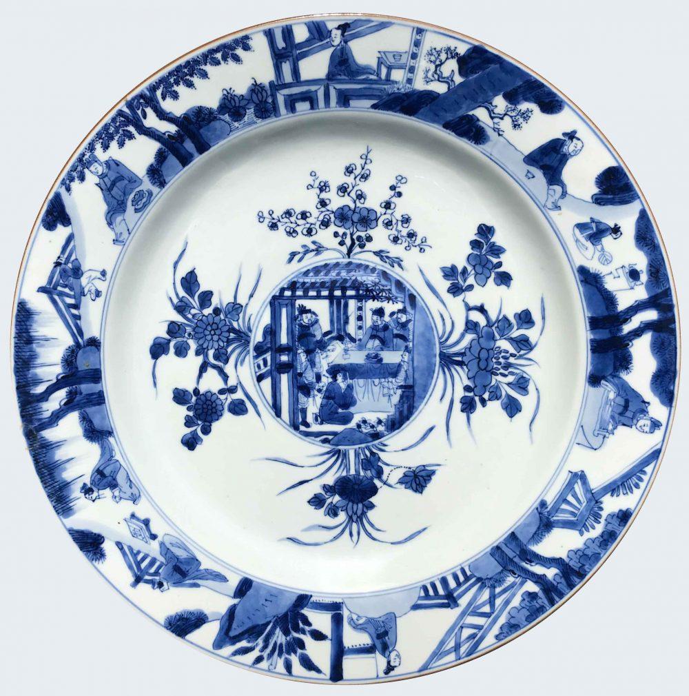 Porcelain Kangxi (1662-1722), circa 1715/1725, China