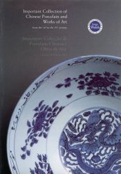 Important Collection of Chinese Porcelain and Works of Art from the 16th to the 19th century