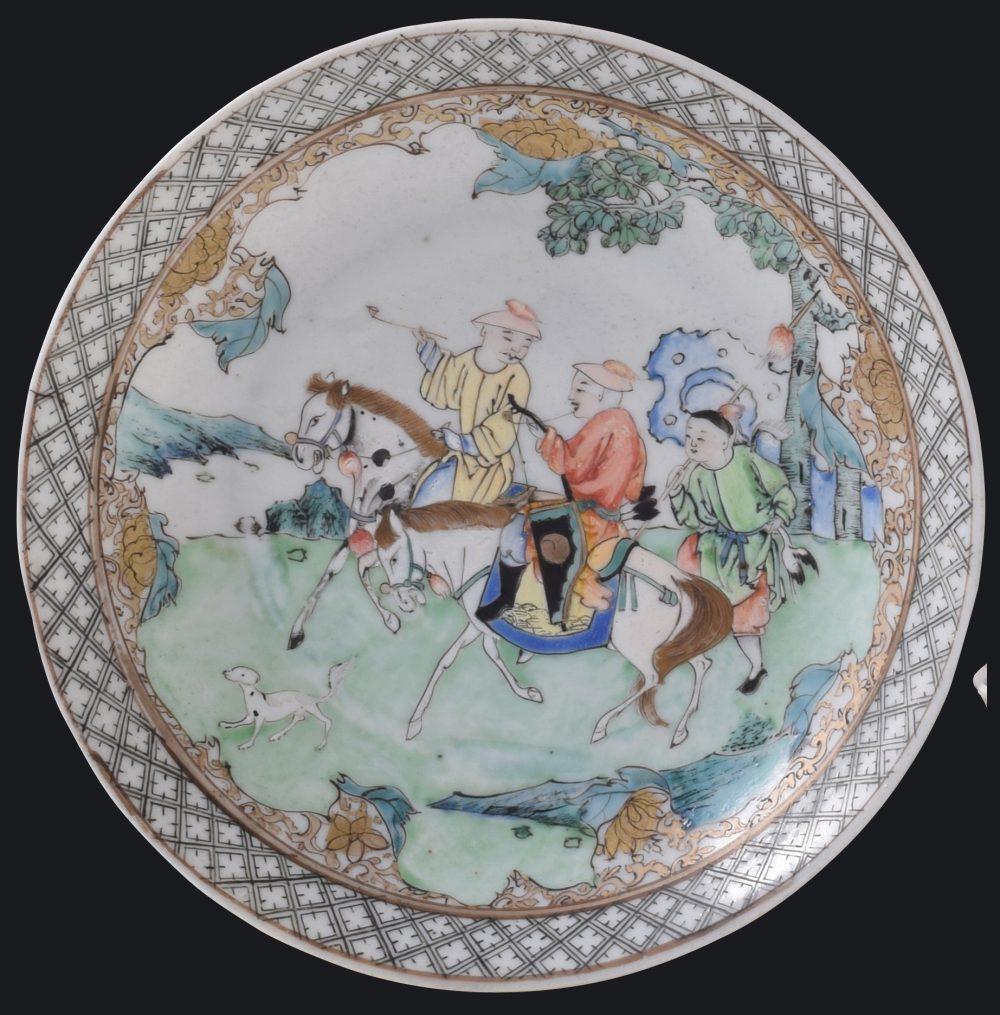 Famille rose Porcelaine Kangxi (1662-1722), China
