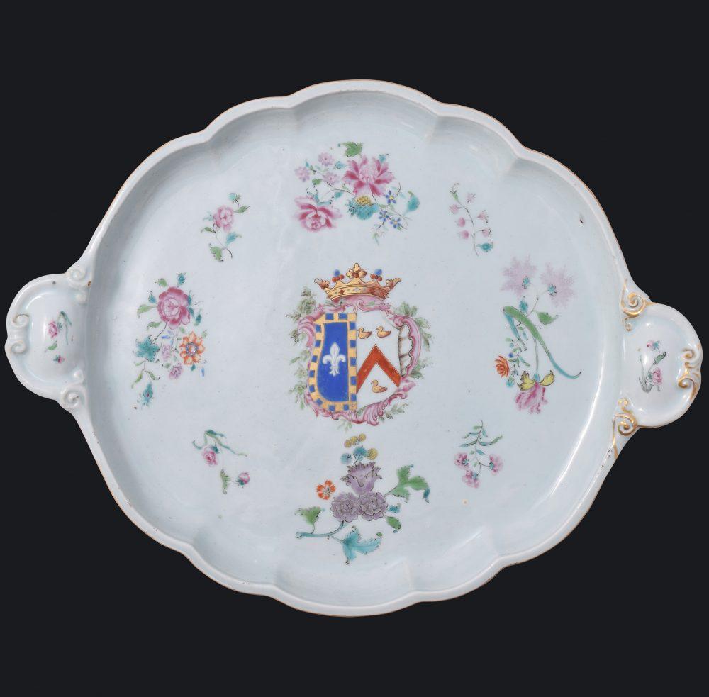 Porcelain Qianlong (1735-1795), ca. 1765, China