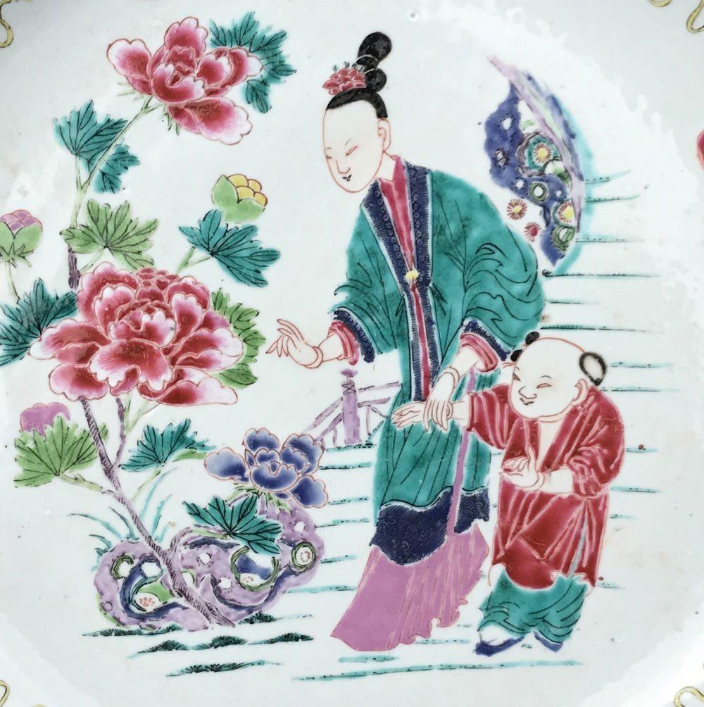 Famille rose Porcelain Late Yongzheng (1723-1735), early Qianlong period (1736-1795), ca. 1730/1740,