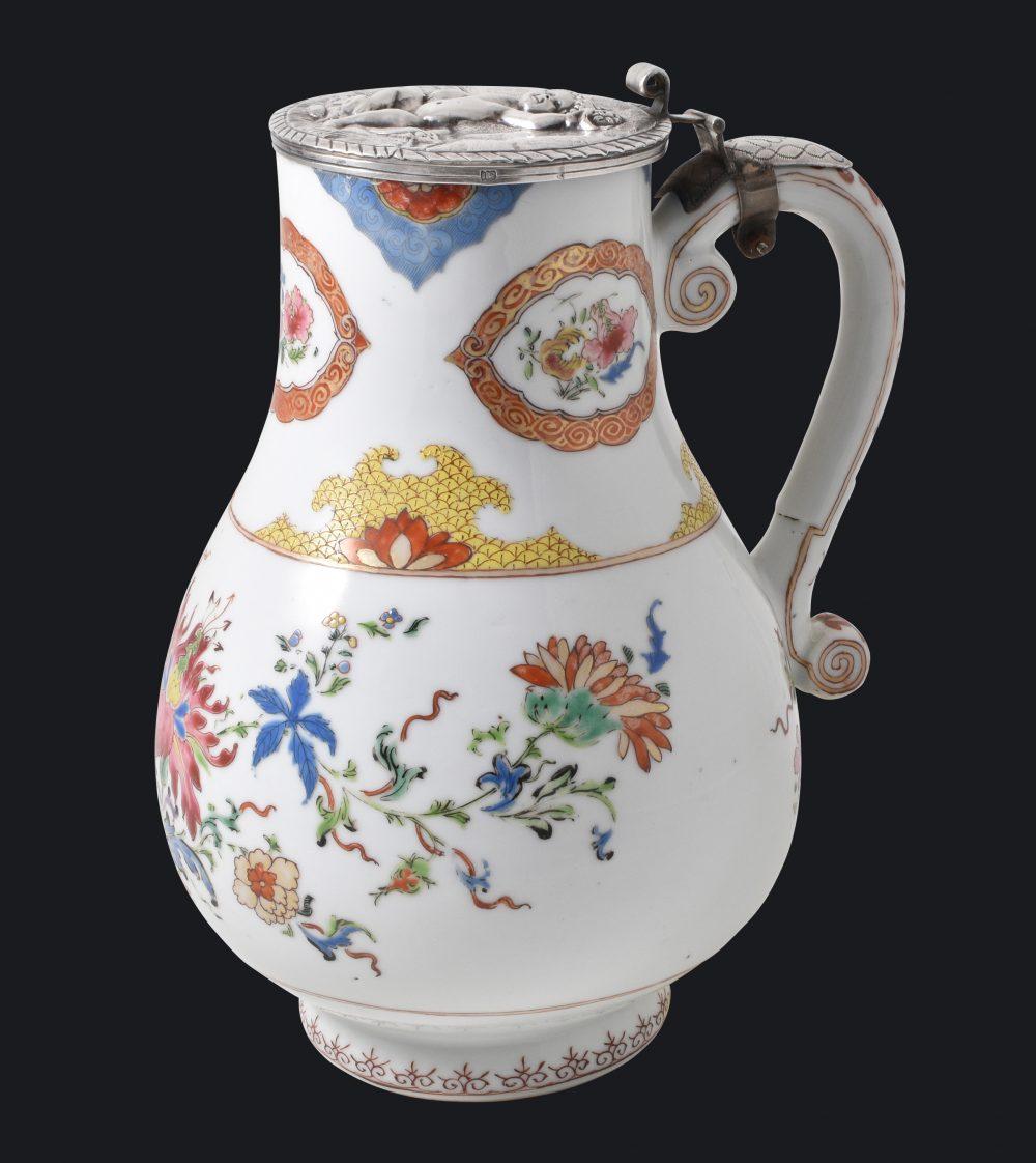 Famille rose Porcelain Qianlong (1735-1795), circa 1740, Chine