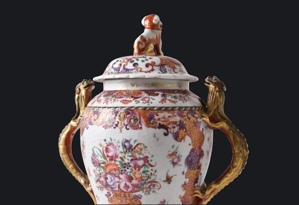 Porcelain Qianlong (1735-1795), China