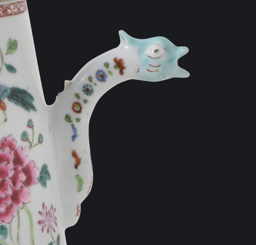 Famille rose Porcelain Qianlong period (1736-1795), circa 1740/1750, China